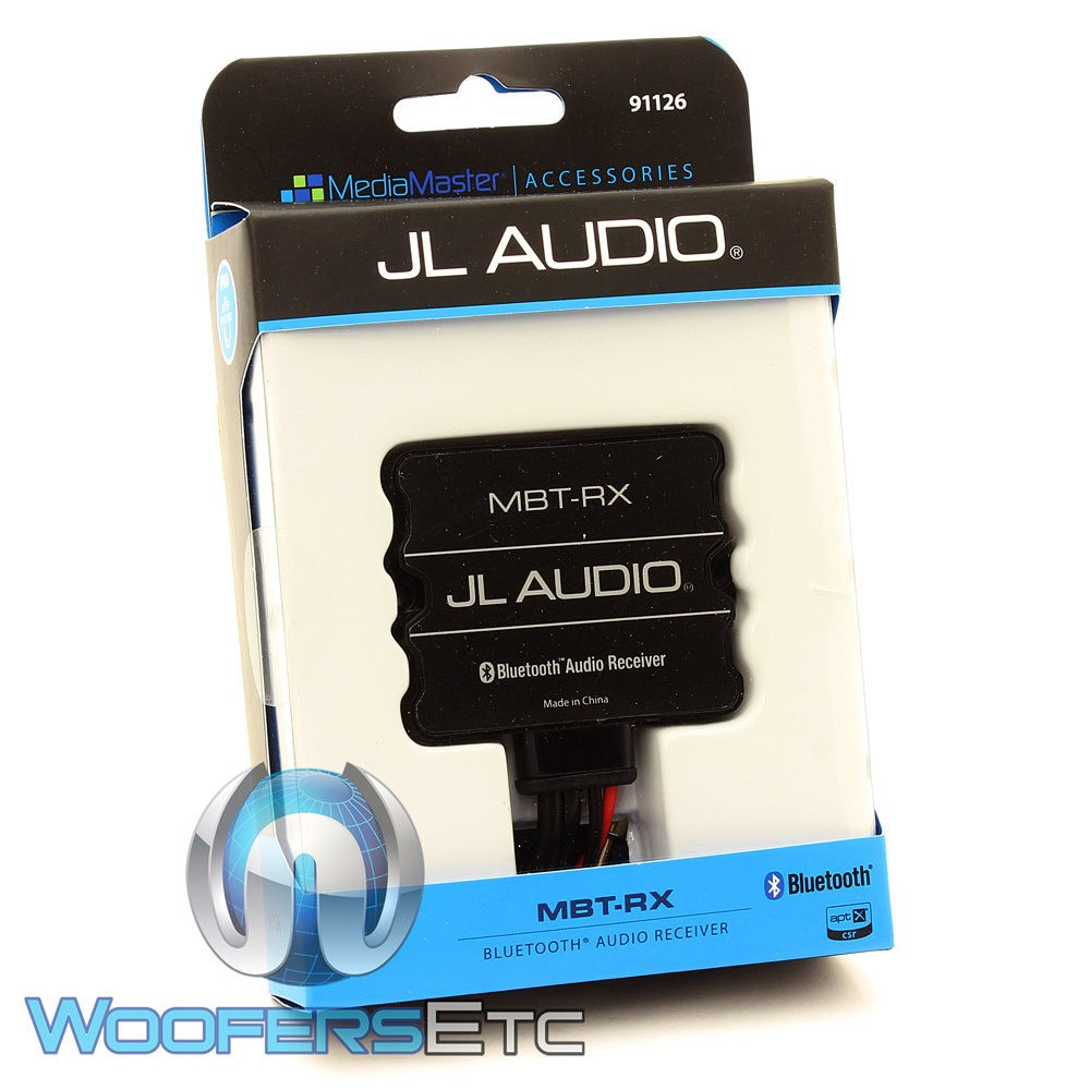 JL Audio MBT-RX Universal Marine-Rated Bluetooth Receiver