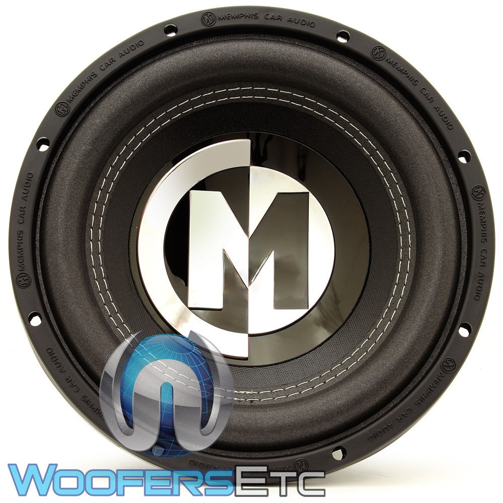 """Best Speaker Wire >> 15-PRX10S4 - Memphis 10"""" 250W RMS Single 4-Ohm Power Reference Series Subwoofer"""