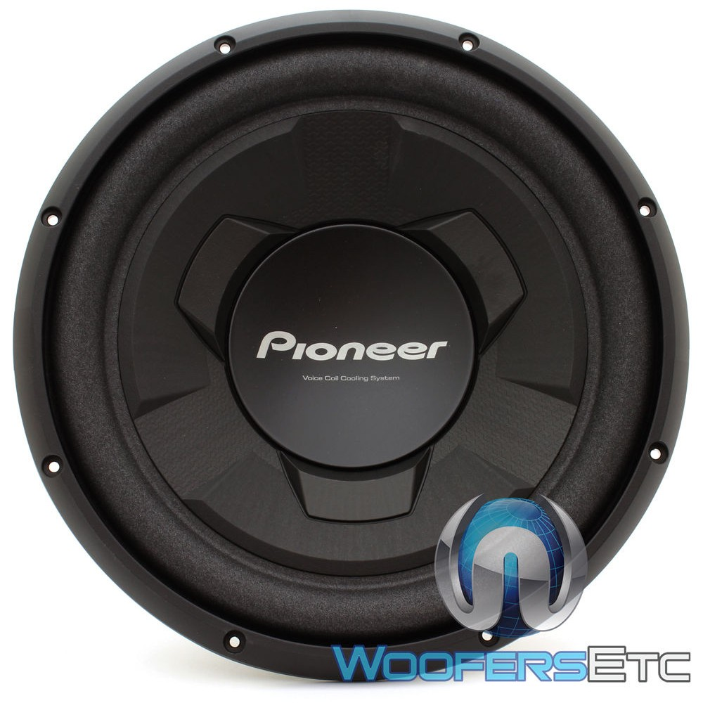 Pioneer Ts W126m 12 Inch 300 Watts Rms Single 4 Ohm Subwoofer