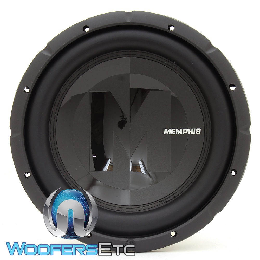 Memphis 15 Prx1244 12 Inch 300 Watts Rms Dual 4 Ohm Subwoofer