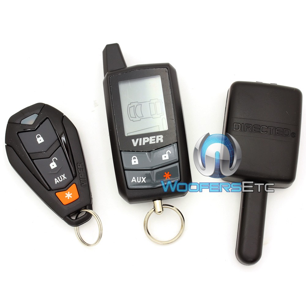 Vehicle Security Systems : V viper responder way car alarm vehicle security