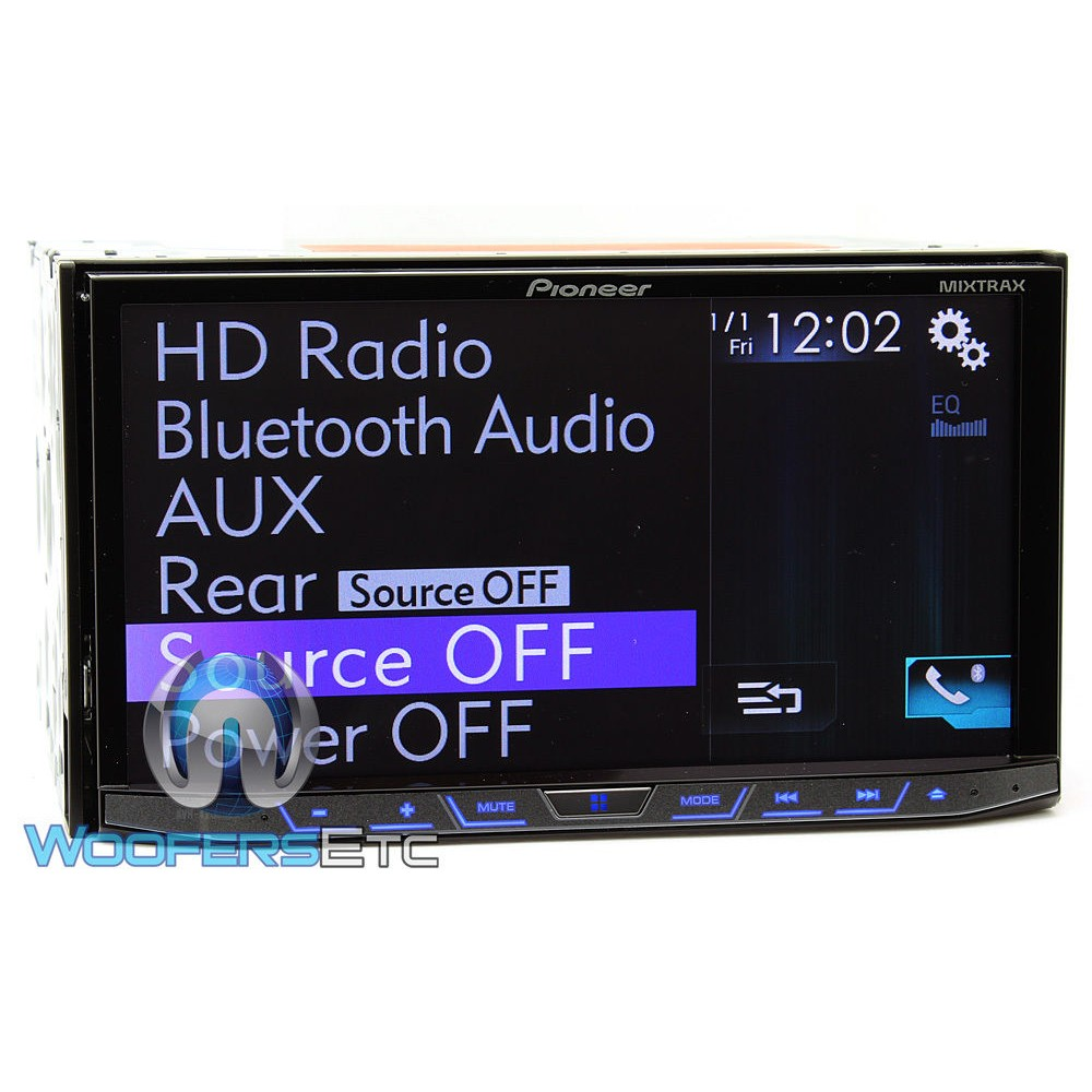 avh 4200nex pioneer in dash 7 inch detachable face. Black Bedroom Furniture Sets. Home Design Ideas