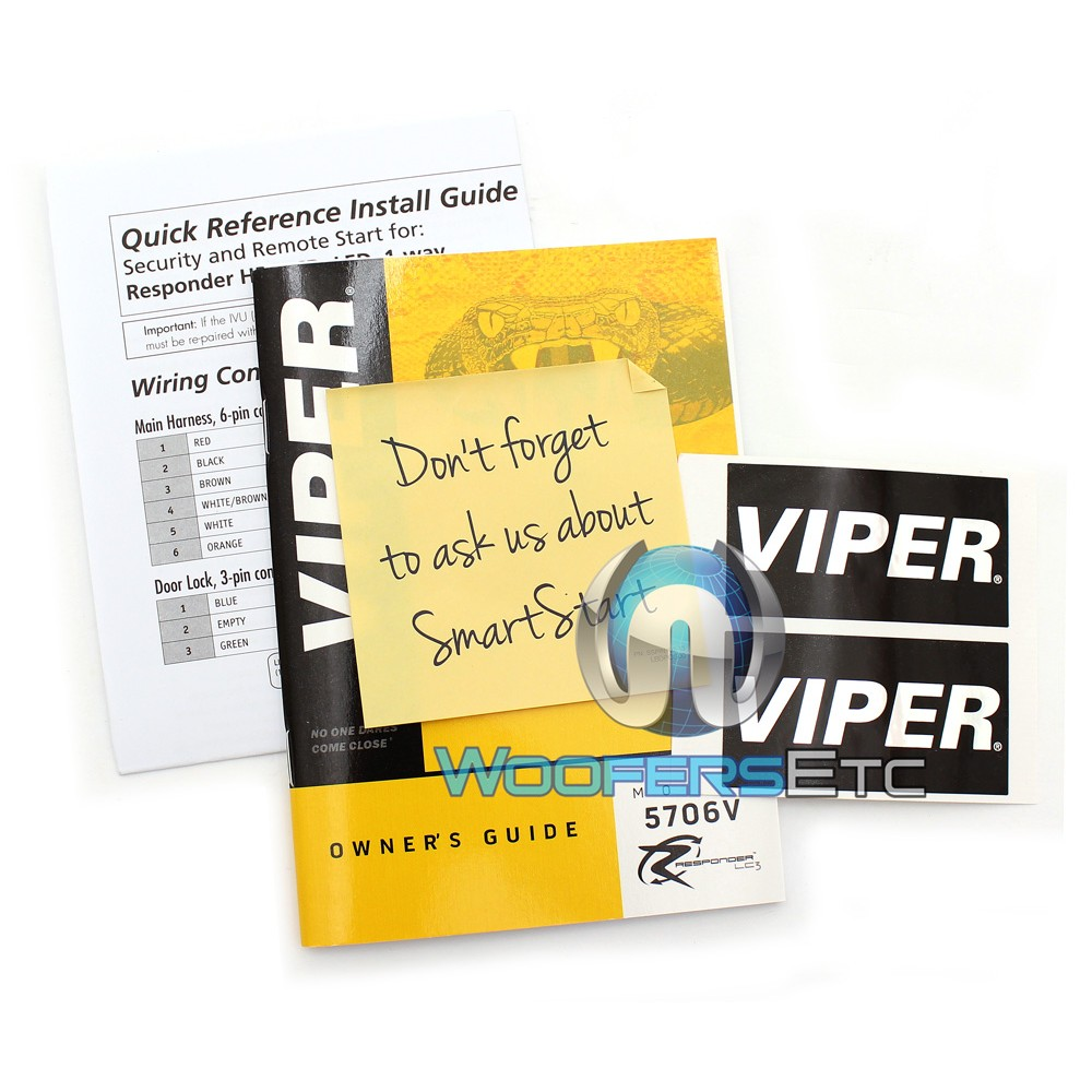 Viper Responder 2-Way Security With Remote Start