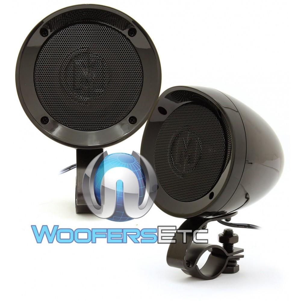 15 Mxahsb Memphis 3 Quot 25w X 2 Rms Motorcycle Speakers