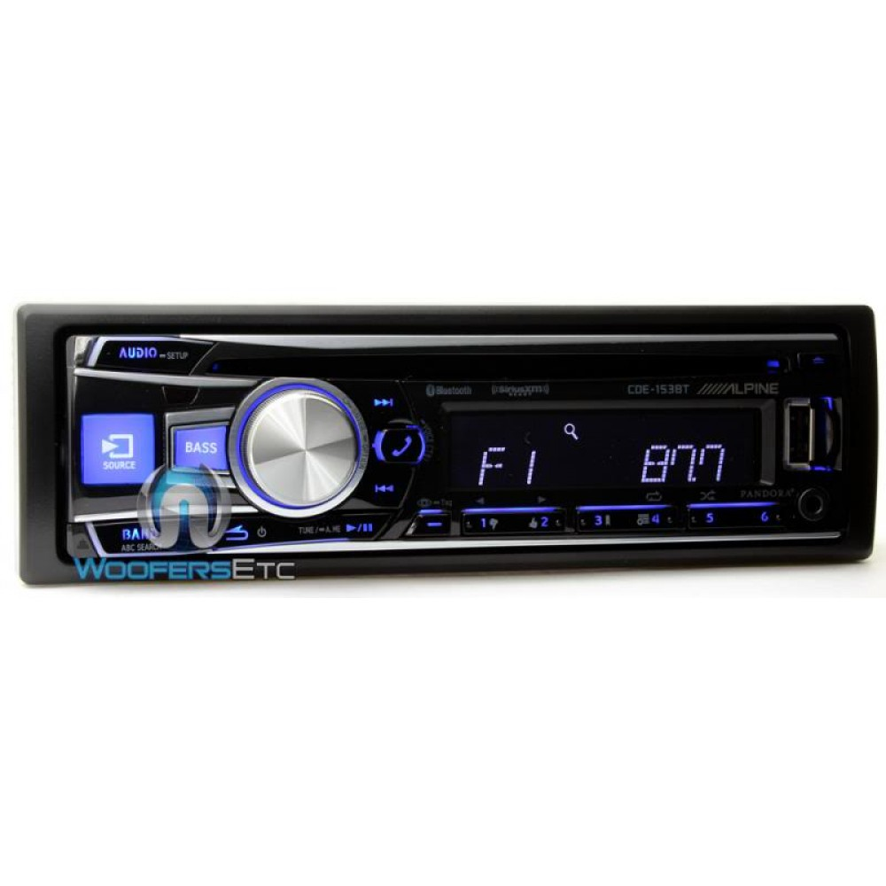 1723105 Alpine Car Stereo Like New 250 A as well Alpine Cde 121 Wiring Harness Diagram also P 12183 Cde 153bt Alpine In Dash 1 Din Cdmp3 Receiver With Bluetooth And Pandora Ready also 186679 likewise Alpine Cde Hd148bt Wiring Harness. on alpine car stereo cde 153bt