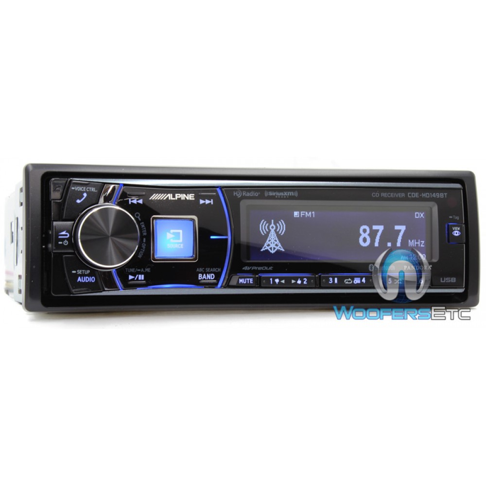 Alpine Cde Hd Bt on Alpine Car Stereo Ipod