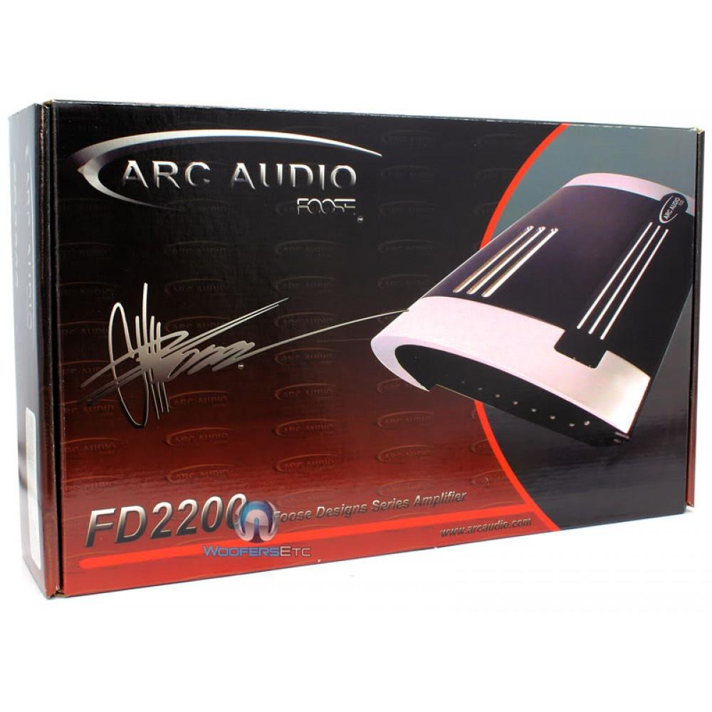 Fd 2200 Arc Audio 2 Channel 370 Watt Amplifier