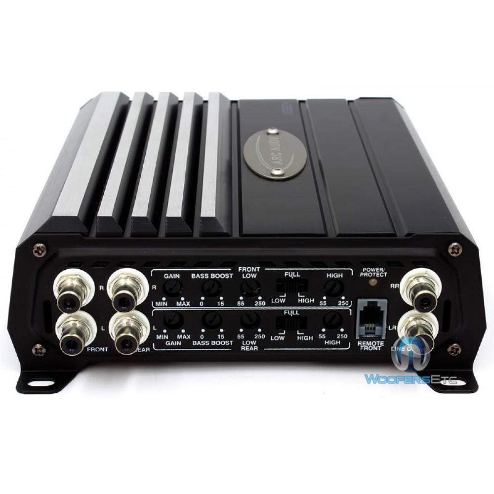 XDI804 Arc Audio 4 Channel 480 Watts Amplifier