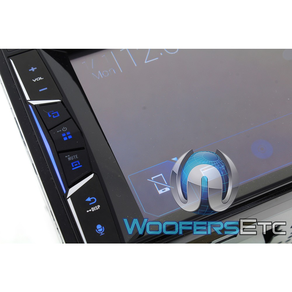 pioneer avh 500ex in dash 2 din 6 2 touchscreen dvd. Black Bedroom Furniture Sets. Home Design Ideas