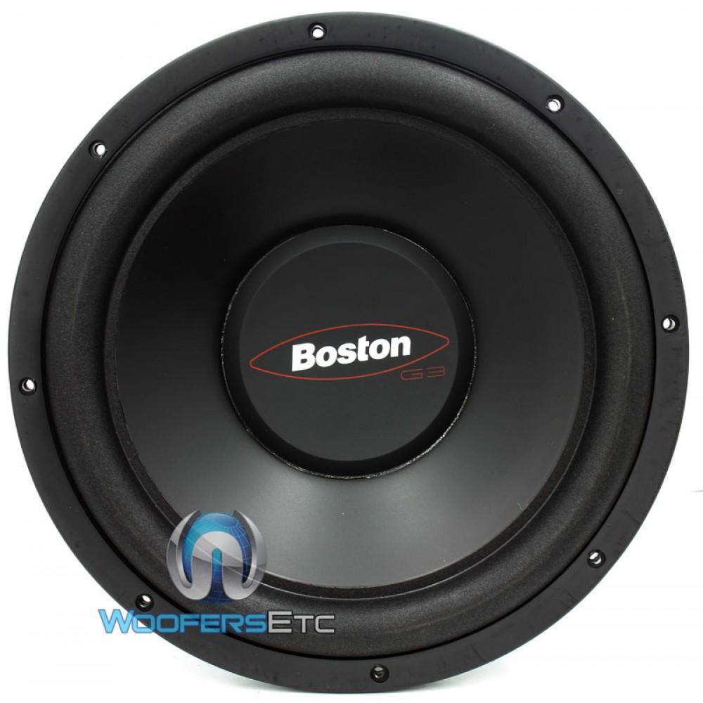 g312 4 boston acoustics 12 375 watt single 4 ohm subwoofer. Black Bedroom Furniture Sets. Home Design Ideas