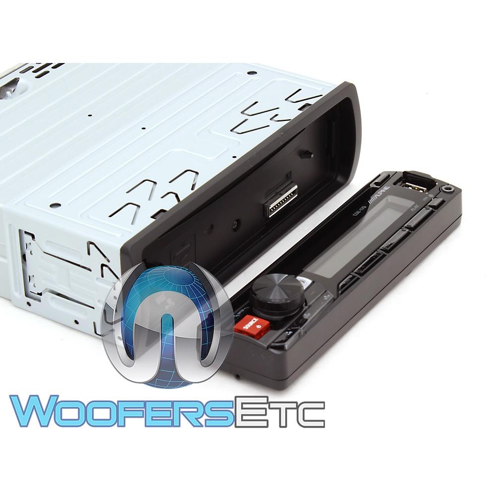 Alpine CDE-170 In-Dash 1-DIN CD/MP3/USB Car Stereo Receiver