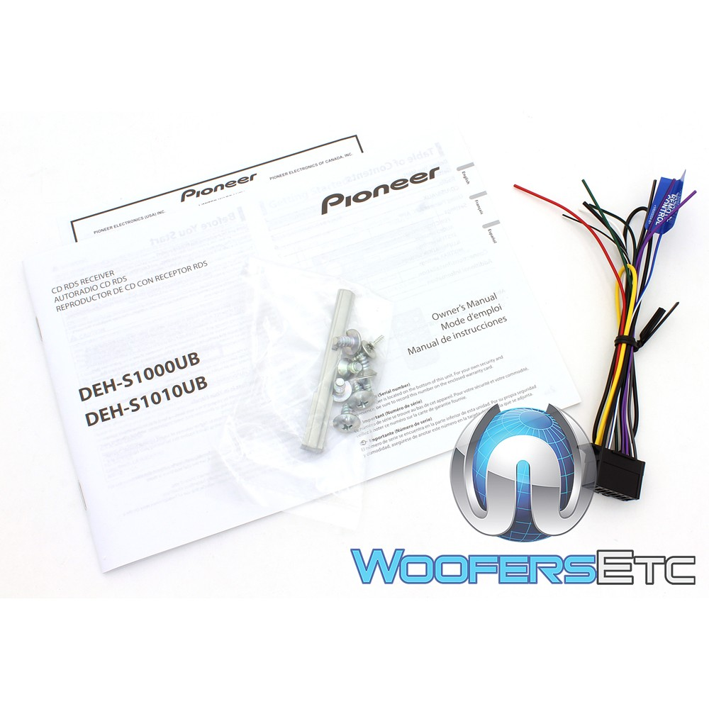 Deh S1000ub Pioneer In Dash 1 Din Cd Mp3 Car Stereo Receiver With 1000 Wiring Diagram Close