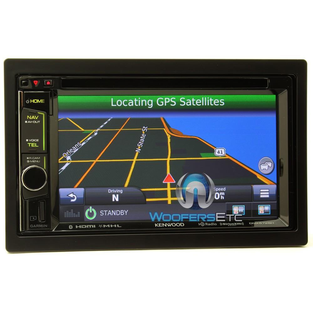 dnxbh kenwood  dash  din  touchscreen dvd receiver  garmin navigation system
