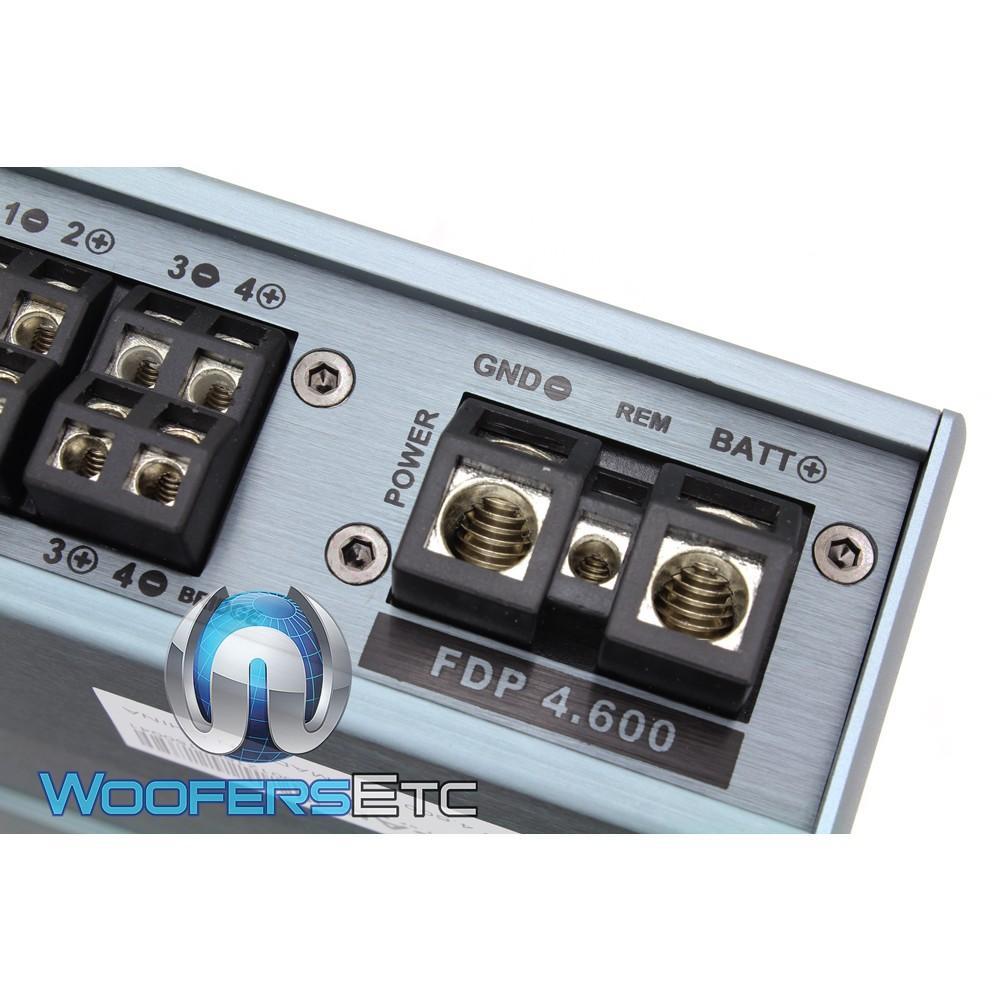 Focal FDP-4.600 4-Channel 600W RMS Full Range Class D Amplifier
