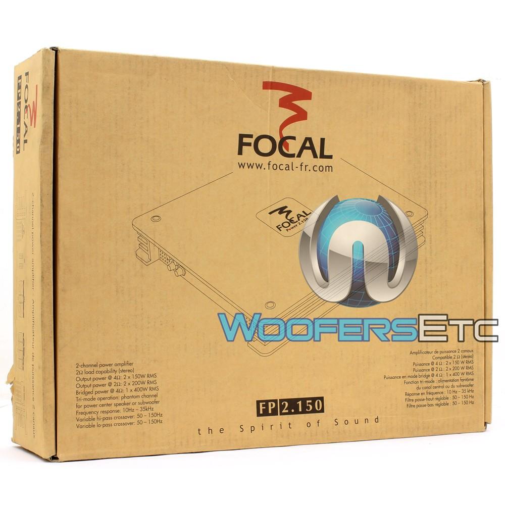 FP2 150 - Focal 2 Ch 400 Watt Power Amplifier