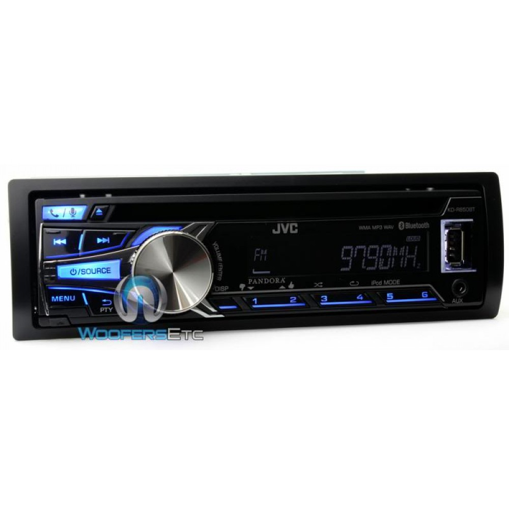 kd r850bt kenwood in dash 1 din cd mp3 usb car stereo receiver with pandora iheart radio and. Black Bedroom Furniture Sets. Home Design Ideas