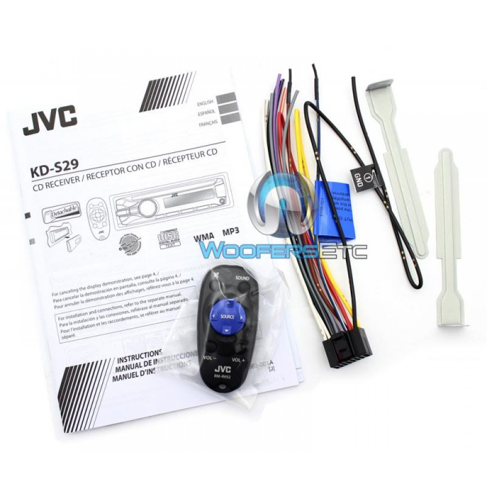 Wiring Diagram Jvc Kd 529 Standard Car Stereo Wire Kdavx44 Dvd Player With Lcd Monitor How To Connect Bluetooth S29 Nemetas