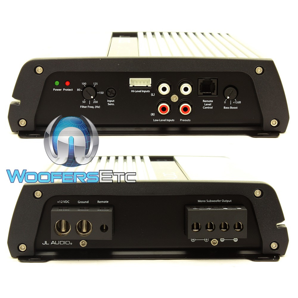 jx1000 1d jl audio 1 channel 1000 watt class d monoblock amplifier. Black Bedroom Furniture Sets. Home Design Ideas