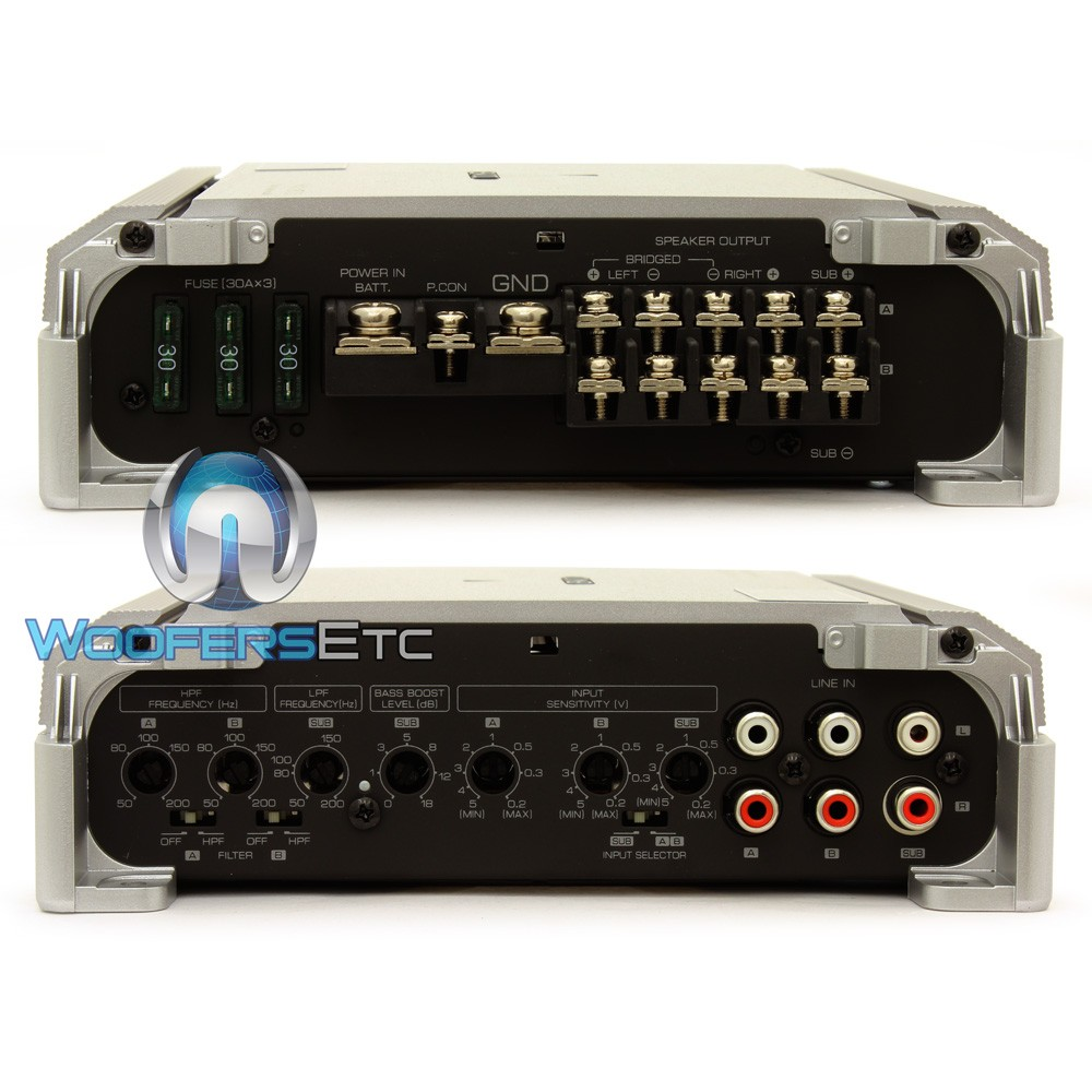 Kac M8005 Kenwood 5 Channel 1600w Max Conformal Coated Bridgeable 4 Digital Amplifier Pro Kit Close