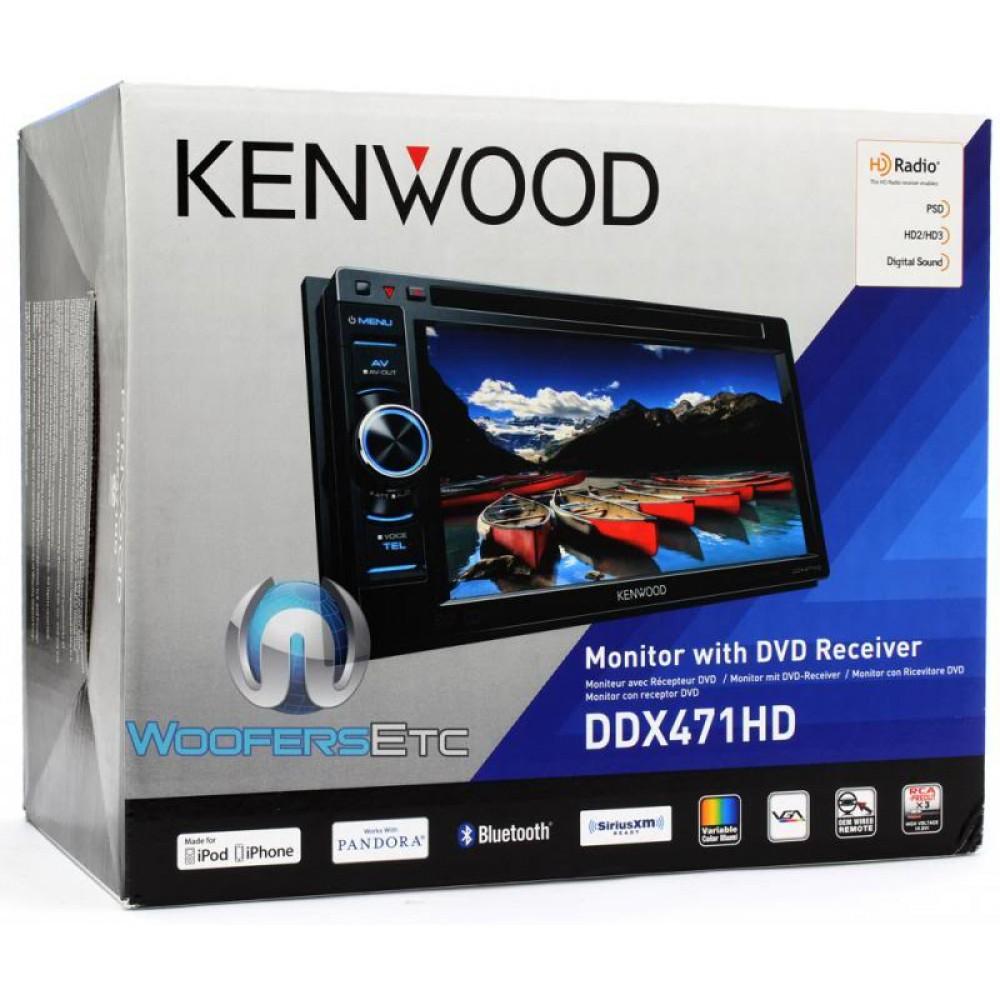 Kenwood DNX772BH 6.95 Inch Touchscreen