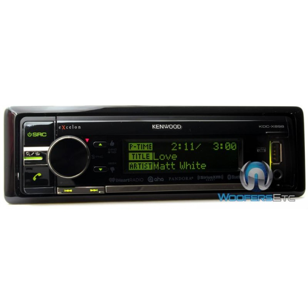 kdc x998 kenwood excelon cd mp3 stereo receiver with. Black Bedroom Furniture Sets. Home Design Ideas