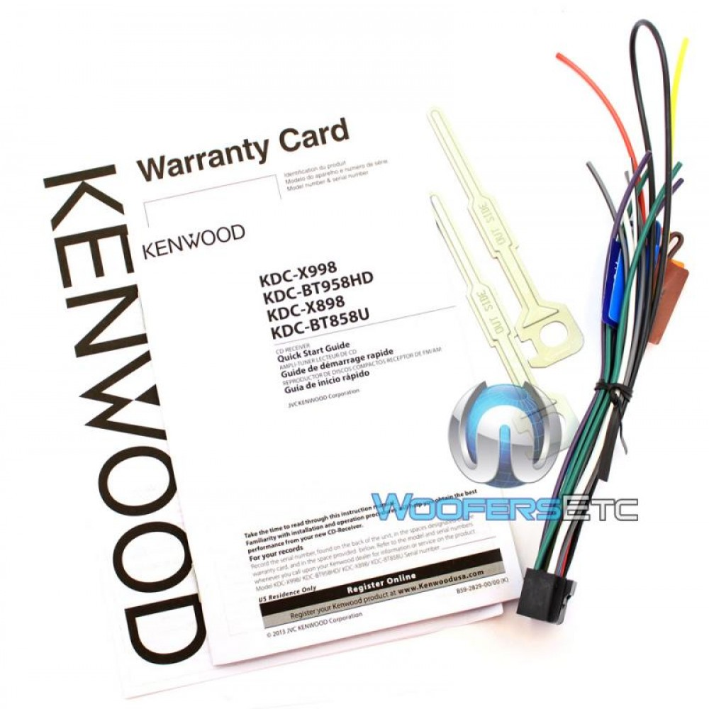 Kenwood Excelon Kdc X on Kenwood Excelon Wiring Diagram