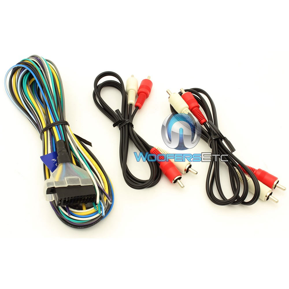 kac-m1804 - kenwood 4-channel 400w class d compact digital ... kenwood 12 pin wiring harness diagram #6