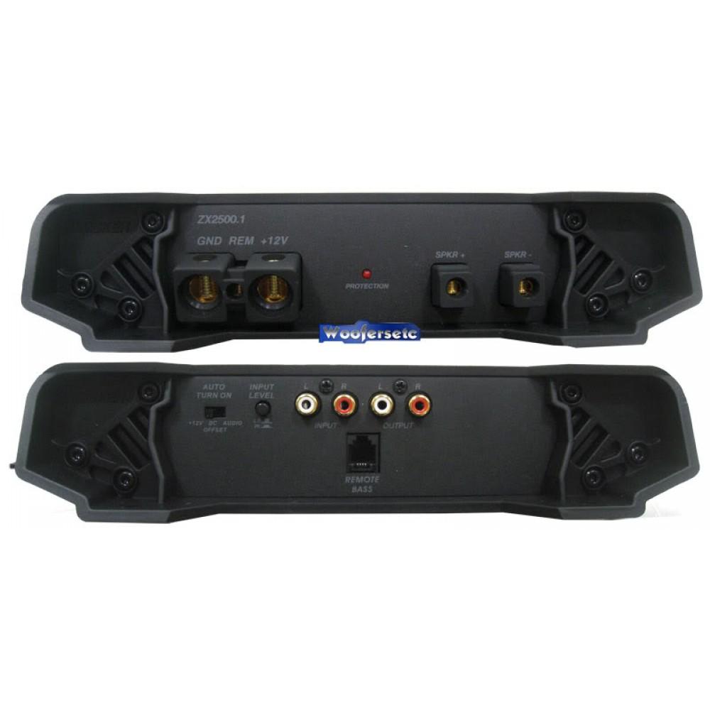 11ZX2500 1 - Kicker Monoblock 5000W Max Power ZX Series Amplifier