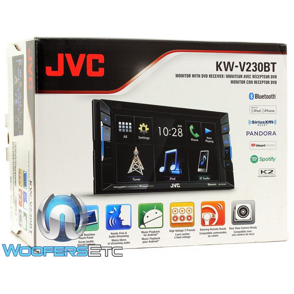 Jvc Kw V230bt Wiring Diagram Explained Diagrams Av60bt In Dash 2 Din 6 Touchscreen Dvd Receiver With Asrock