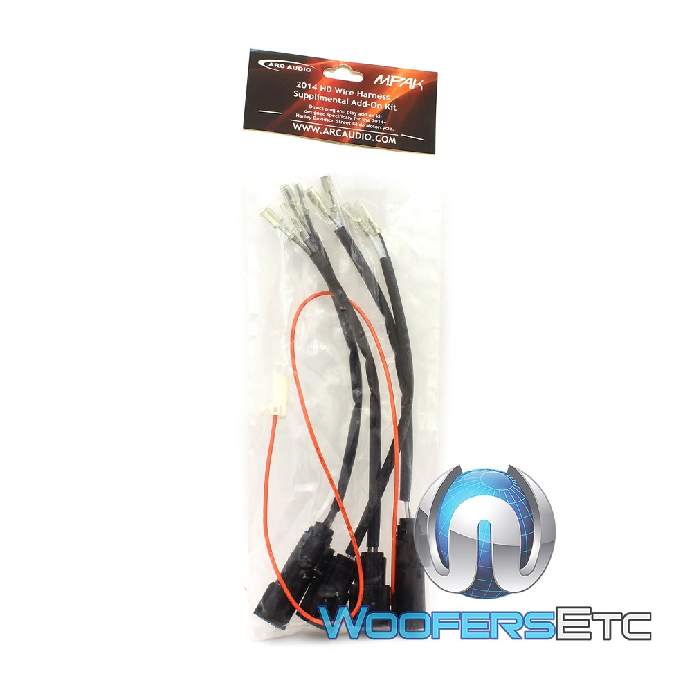 Mpak 12 Arc Audio Motorcycle Kit With 65 Coaxial Speaker Wiring Harness Xscorpion Close
