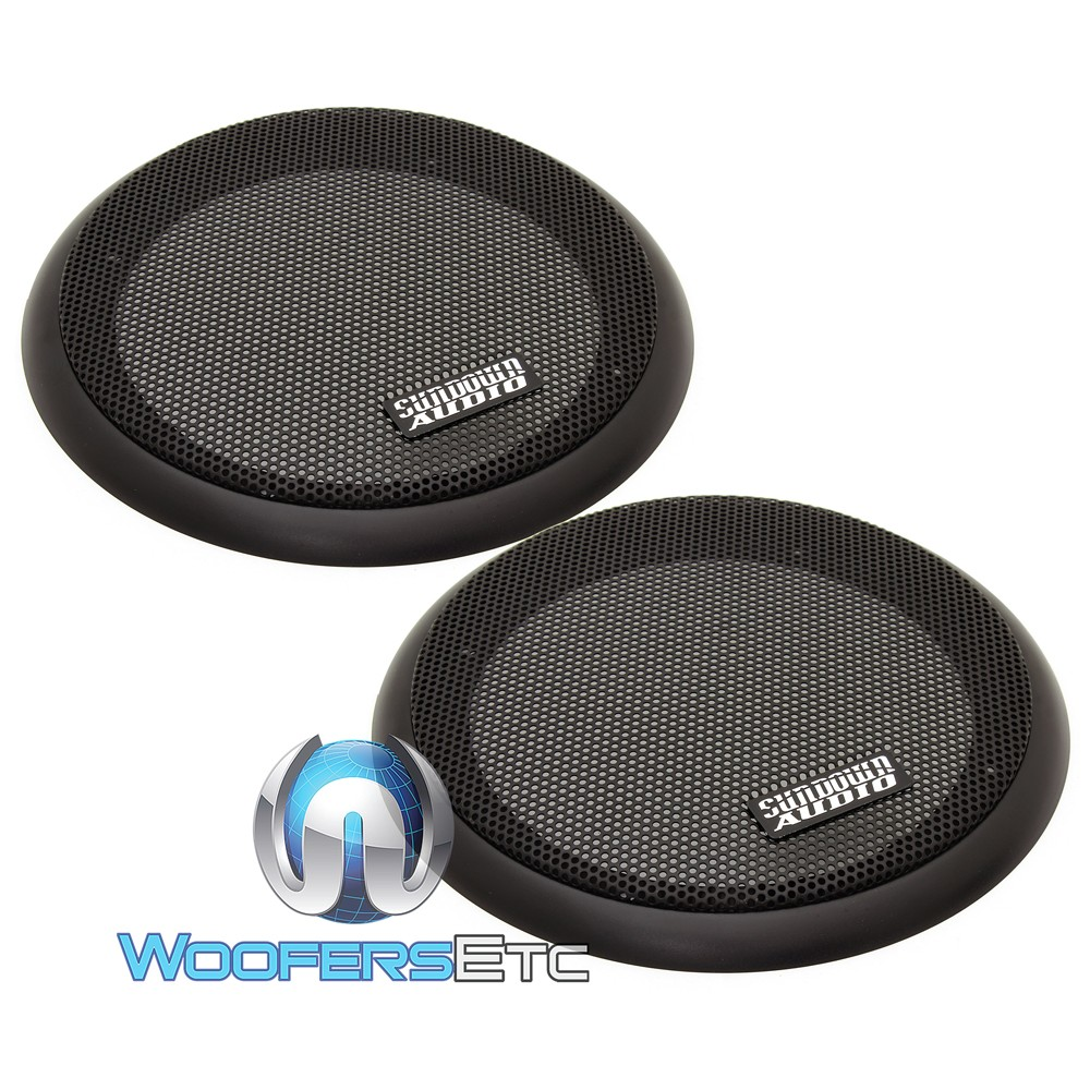 "2 Neo Pro 8 Sundown Audio 8 4 Ohms Car Audio Midbass: Sundown Audio NeoPro-8 V3 8"" 180W RMS 4-Ohm Carbon Fiber"