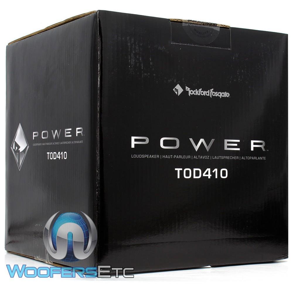 T0d210 Rockford Fosgate 10 Quot 550w Dual 2 Ohm T0 Series