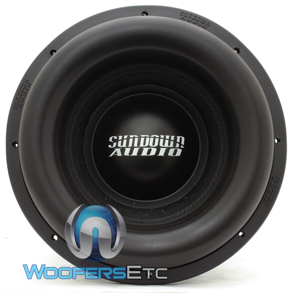 sundown audio team 12 1 4dcr 12 inch 3000 watts rms team series subwoofer. Black Bedroom Furniture Sets. Home Design Ideas