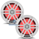 "M1-6 - Rockford Fosgate 6"" 150W RMS Color Optix™ Marine 2-Way Speakers (WHITE)"