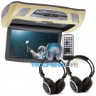 "VCM-103DAC Tan - Soundstream 10.3"" LCD High Resolution Ceiling Mount DVD Player"