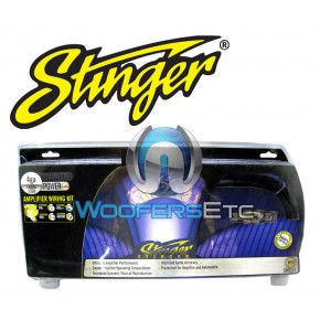 Stinger SK6241 4 Gauge 6000 Series Power Amplifier Installation Kit