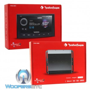 Rockford Fosgate PMX-8DH Punch Marine Full Function Wired 5 TFT Display Head