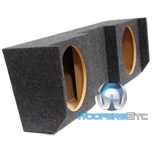 Ground Shaker NST212 12 Inch Dual Sealed Subwoofers Box for