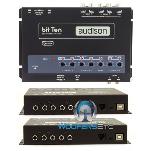 bit ten audison interface signal processor. Black Bedroom Furniture Sets. Home Design Ideas