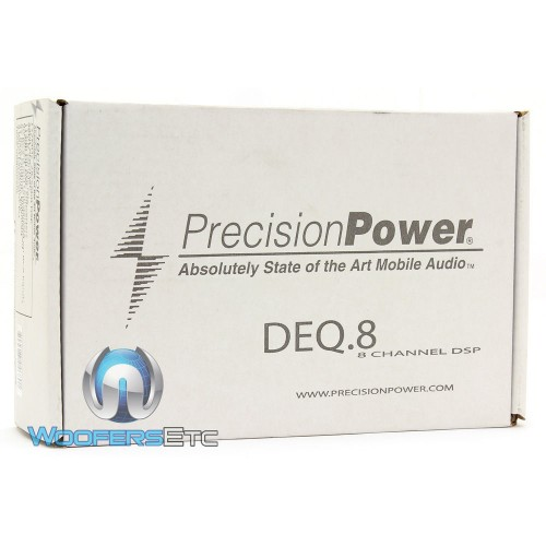 DEQ 8 - Precision Power Digital Sound Processor with 31 Band Graphic