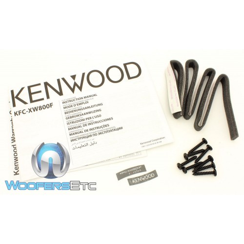 Kenwood KFC XW800F 8 Inch 150 Watts RMS Shallow Mount