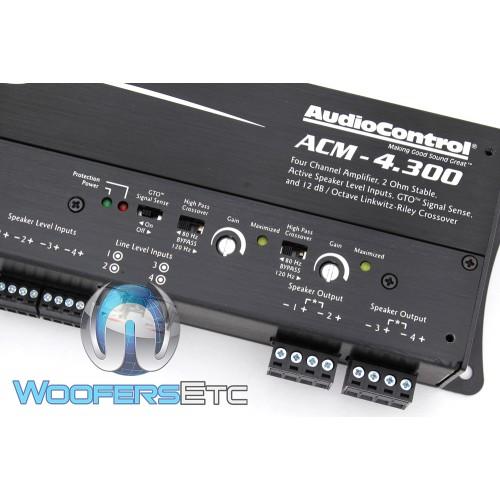 audiocontrol acm 4 channel 300w rms micro amplifier. Black Bedroom Furniture Sets. Home Design Ideas