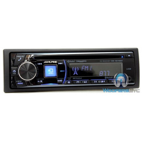 cde hd148bt alpine in dash cd mp3 usb car stereo receiver with  click to view larger image