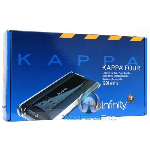 Kappa Four - Infinity Kappa 4-Channel 600 Watt Amplifier