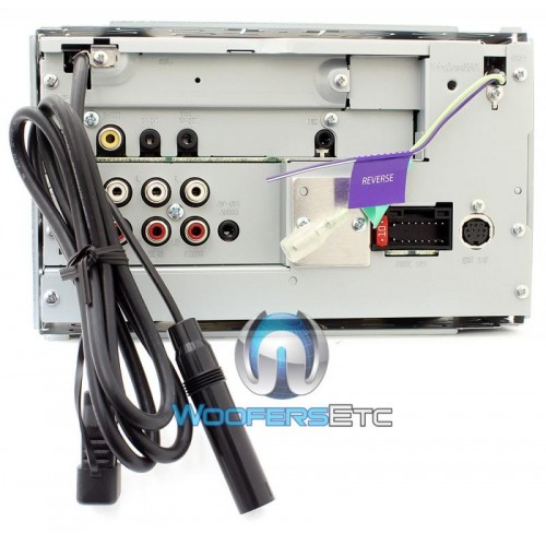 ddx kenwood   dash  din touchscreen cddvd receiver  bluetooth