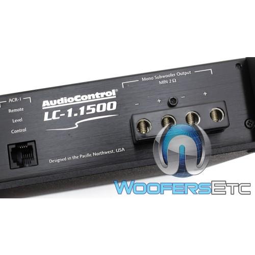 audiocontrol lc monoblock 1500w rms amplifier. Black Bedroom Furniture Sets. Home Design Ideas