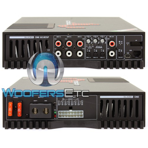 Mosconi ONE 60 8 DSP 8-Channel 8 x 60W One Line Series Class AB with DSP