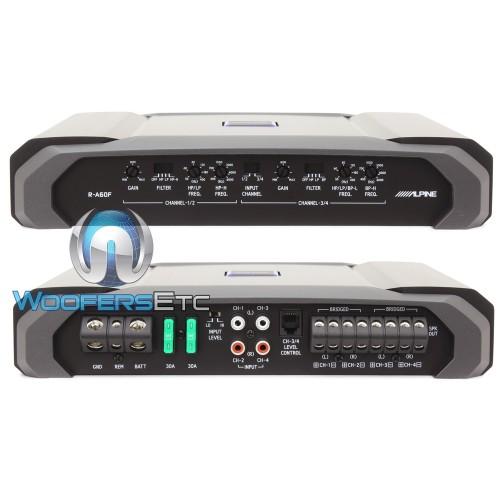 Alpine R-A60F 4-Channel 150W RMS x 4 R-Series Amplifier