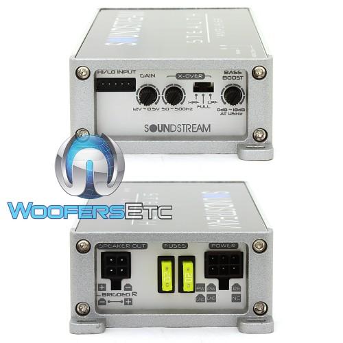 ST2 1000D - Soundstream 2-Channel 500W RMS Class D Amplifier