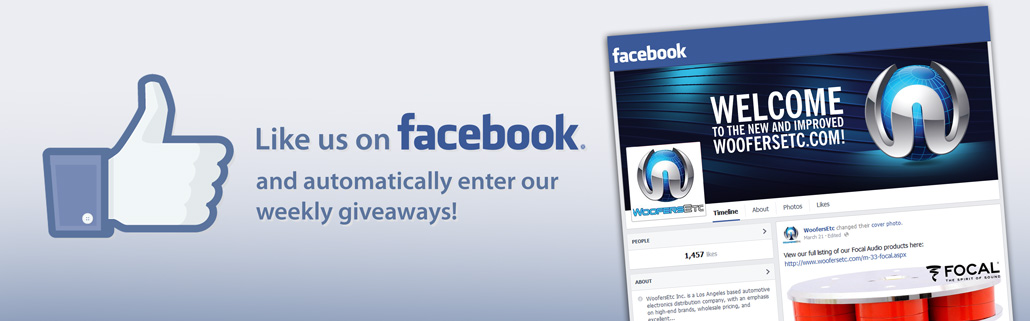 Like Us on Facebook and Automatically Enter Our Free Giveaways!